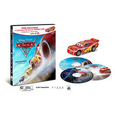 Car 3 (Blu-ray + DVD + Digital HD) Puzzle Car Target Exclusive -Brand New Sealed