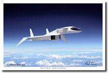 Valkyrie - Mach 3 @ 70,000 Feet by Mark Karvon (Large) - Aviation Art - Modern