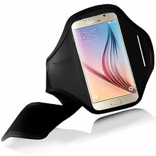 FUNDA DE BRAZO BRASSARD PARA Samsung Galaxy A5 SALIR A CORRER CAMPO GYM NEGRO