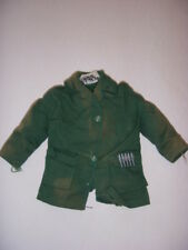 VINTAGE HASBRO G.I. JOE ADVENTURE TEAM DOLL GREEN ARMY JACKET WITH BULLETS -TAG!