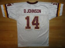 BRAD JOHNSON Puma WASHINGTON REDSKINS White Jersey - Youth Size Large L