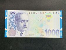 1000 Schilling Banknote Österreich - Landsteiner 1997, UNC