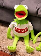 """70cm/28"""" The Muppet Show Kermit the Frog plush puppet Toy with cloth"""