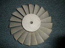 Aluminum Jet Engine Turbine Blade (Raw)