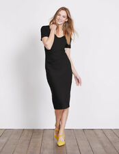Boden Honor Ponte Dress Black Size 10 Sa171 FF 15