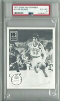 1975 Fan Grabber basketball card Alvan Adams, Phoenix Suns graded PSA 6 tuff!