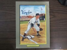 George Kell Autograph / Signed Perez Steele Great Moments Detroit Tigers