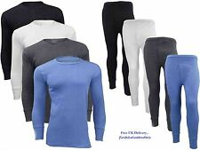 FULL SET MENS THERMAL SKI UNDERWEAR,LONG SLEEVE VEST TOP , LONG JOHNS ALL SIZES