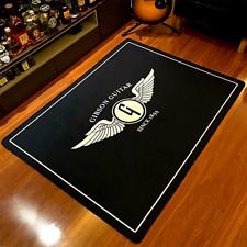 Gibson Guitar Cool Music Area Rug Flannel Printed Carpet Non-Slip Floor Mat