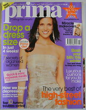Prima Magazine November 2007. Drop a dress size in just 4 weeks Miracle makeover