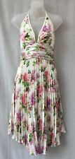 Christopher Ari Size 10 Halter Dress Cocktail Party Evening Occasion Races