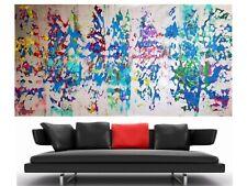 WEISE XXL Acrylbild ART Gemälde Abstrakt Modern 169 x 91 cm Leinwand 61/20 NEU