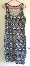 LADIES BLACK & WHITE DRESS SZ 12 by HOT OPTIONS