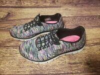 Skechers Size US 6 Relaxed Fit Air Cooled Memory Foam Multicolored Rainbow