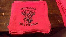 Harley Davidson Shovelhead shop rag