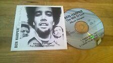 CD Blues Ben Harper - The Will To Live (3 Song) Promo VIRGIN REC cb