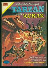 TARZAN KORAK #283 Editorial Novaro; Mexican Comic 1971