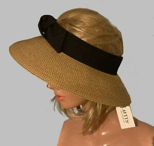 Dramatic Eric Javits Dressy Sun Hat New Tags ($135.) One Size