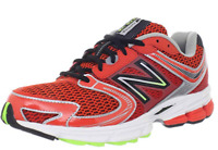 New Balance Mens Shoes M770CT3 Athletic Running Course Sneakers Red Black Mesh