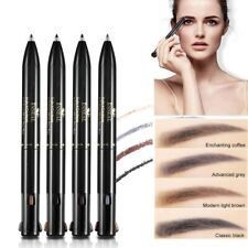 4in1 Eye Brow Pen Waterproof Black Brown Eyebrow Pencil Eyebrow Tattoo Makeup
