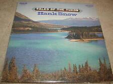 Hank Snow Songs Of The Yukon RCA LP 1968 Original Black Label