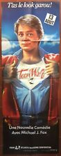 Affiche TEEN WOLF James Hampton MICHAEL J. FOX Loup Garou 60x160cm *