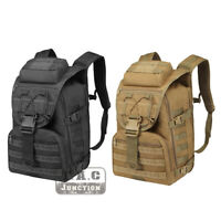 Tactical Bug Out Bag MOLLE Military Backpack EDC Rucksack 34L 3 Day Assault Pack