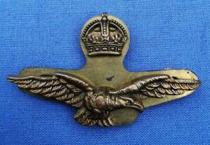 ww2 RAF Officers side cap badge