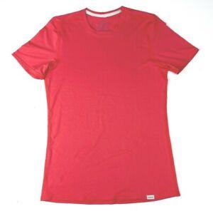 Patagonia Short Sleeve Base Layer Women T Shirt Size M Pink