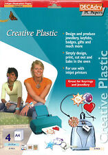 Decadry OCI 4938-3A Creative Plastics Make Your Own Keyring Jewellery Badges