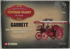 Corgi 80306 Garrett 4cd Showmans Tractor Lord George Boxed RARE MIB