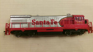 Bachmann HO GE U36B Diesel Santa Fe #350 runs good, No defects