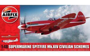 Airfix A05139 Supermarine Spitfire MkXIV Civilian Schemes