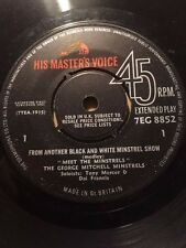 "GEORGE MITCHELL MINSTRELS 7"" 45 EP - FROM ANOTHER BLACK & WHITE MINSTRELS SHOW"