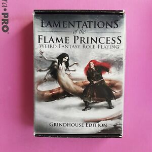 LAMENTATIONS OF THE FLAME PRINCESS RARE BOXED GRINDHOUSE EDITION RPG ROLEPLAYING