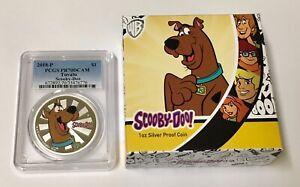 2018 P $1 Scooby-Doo Tuvalu Silver PCGS PR70DCAM With BOX & COA