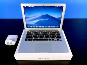 APPLE MACBOOK AIR 13 INCH LAPTOP / TURBO BOOST / 3 YEAR WARRANTY / 128GB SSD