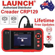 LAUNCH X431 CRP129 OBD2 ABS SRS Diagnostic Scanner Code Reader EPB SAS Oil Reset