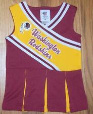 NWOT ~ WASHINGTON REDSKINS FOOTBALL ~ NFL TEAM APPAREL Cheerleader Dress size 2T