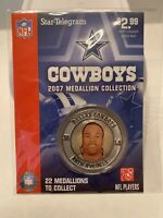 Dallas Cowboys 2007 Medallion Collection RARE New In Package Akin Ayodele #50