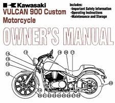 New listing 2007 Kawasaki Vulcan 900 Custom Motorcycle Owners Manual -Vulcan 900-Vn900C