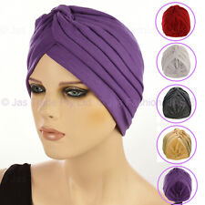 Chemo Hair Loss Fashion Head Wrap Cover Turban Hat GENTLE SOFT STRETCH Jersey