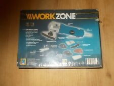 WORKZONE AIR MULTI TOOL WITH ACCESSORIES SEALED NEW AND BOXED