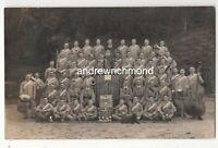 Miltary Band Vintage RP Postcard WW1 205c