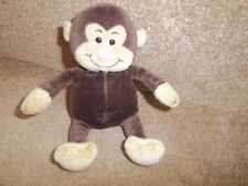 """7"""" TESCO CHIILY FRIENDS JASON THE MONKEY COMFORTER BABY SOFT TOY"""