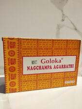 15 gr INCENSO GOLOKA bastoncini ORIGINALE INDIA fragranza naturale nag champa