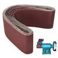 150x1220mm (6x48'') Abrasive Sanding Belt Industrial Cloth Backed 80~1000 Grit