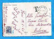 SIRACUSANA - £.15 ISOLATO E USATO COME SEGNATASSE con unico bollo T    (501974)