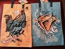 1 Delaware Trader Joe's BAG reusable Shopping grocery ECO bag NWT Sale!