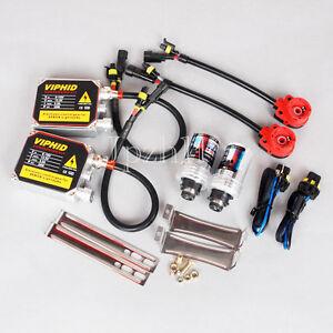 35W Car HID Xenon Headlight Kit AC Ballast D2S 8000K Bulbs Light Socket Adaptor